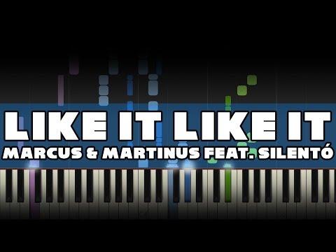 Marcus & Martinus feat. Silentó - Like It Like It - Piano Tutorial