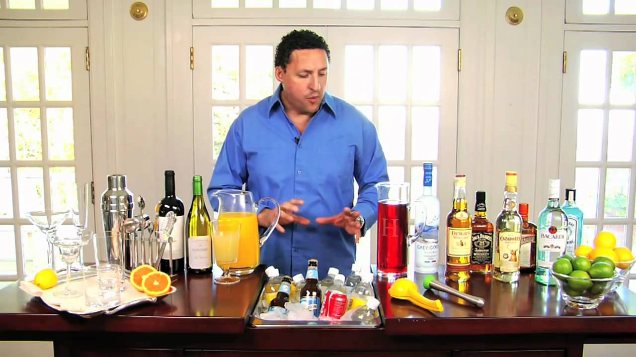 How to Set up a Home Bar with Manny Hinojosa | Pottery Barn - YouTube