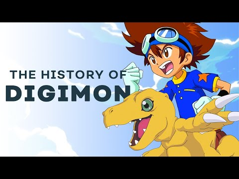 How Tamagotchi Made Digimon Possible   The History of Digimon