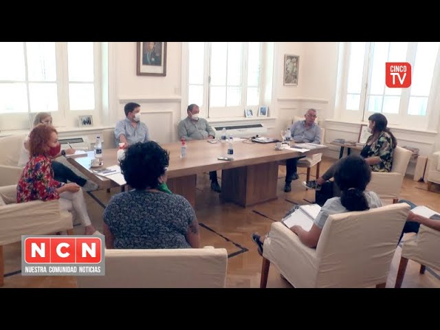 CINCO TV -  Julio Zamora se reunió con Fernanda Miño y acordaron avanzar en políticas habitacionales