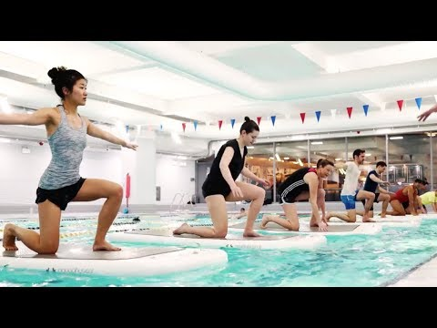 FloatFit At YMCA Central | London, UK | AquaPhysical