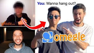 Asking Strangers On Omegle To Meet In Real Life