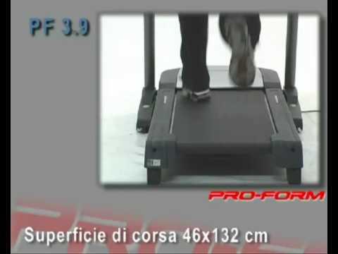 Tapis Roulant Pro Form 3 9 Youtube