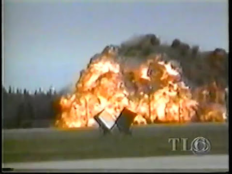 B-52 Crash at Fairchild Air Force Base