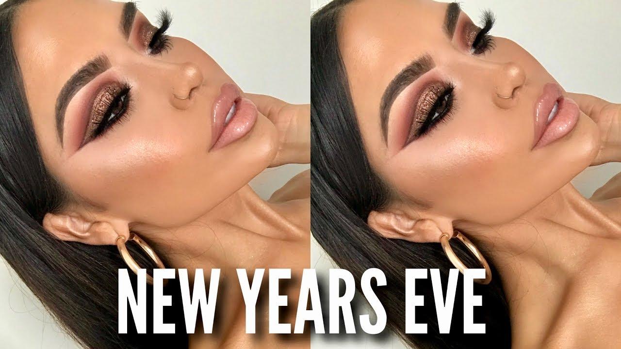 New years eve eye makeup