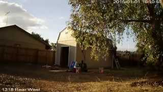 2015-01-01 Tuff Shed Build Time Lapse