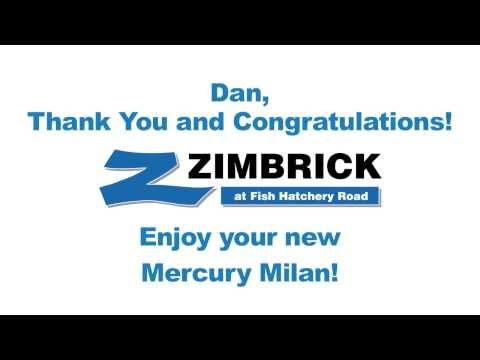 Dan Bought A Used Mercury Milan In Madison From James At Zimbrick