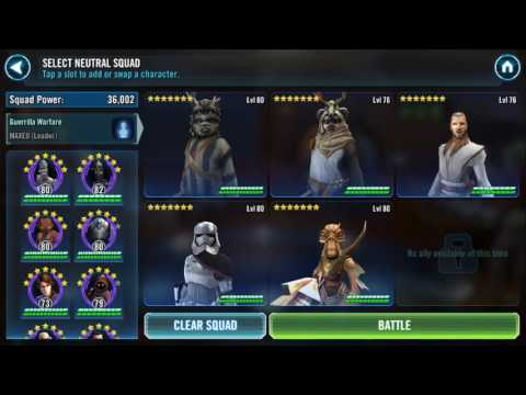 SWGoH - Best Rancor Raid Unit and Teams by AdeganSentait