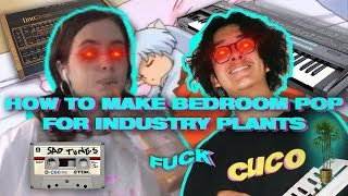 HOW TO MAKE BEDROOM POP FOR CLAIRO AND OTHER INDUSTRY PLANTS | MAKE BEATS FOR CLAIRO AND CUCO