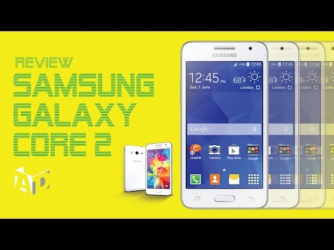 Review Samsung Galaxy Core 2 : AppDisqus Channel