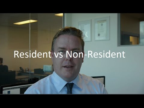 How Does An Aussie Expat Qualify As A Resident vs A Non Resident For Tax Purposes