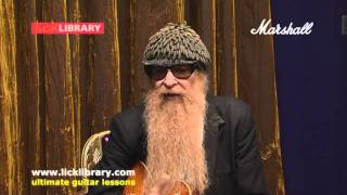 ZZTop Billy Gibbons Interview With Stuart Bull Licklibrary