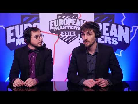 European Masters Main Event Day 1 - ESG vs KLT