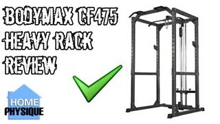 Bodymax CF475 Heavy Power Rack Review
