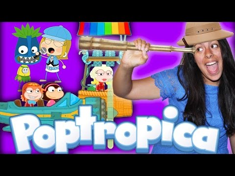 Get Me Off This Island!! Playing Poptropica! (Mystery Gaming)