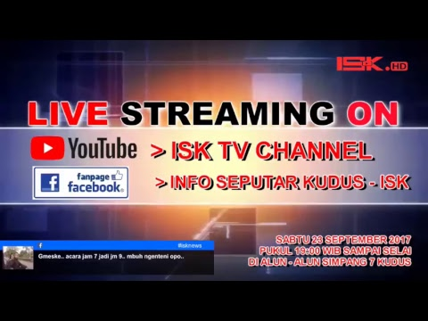 LIVE STREAMING KIRAB BUDAYA HUT KUDUS 468