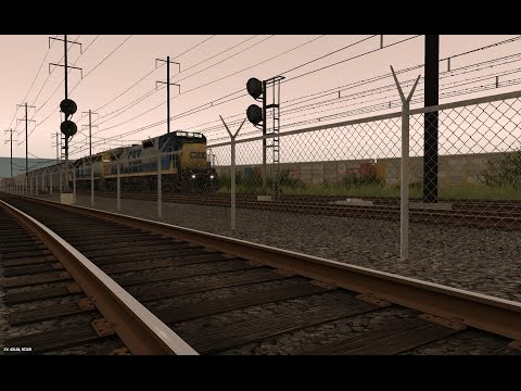Trainz Model Railroad: Conrail North Jersey (Passenger and Freight)