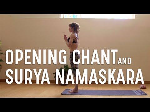 Opening chant and Surya Namaskara | Ashtanga Yoga