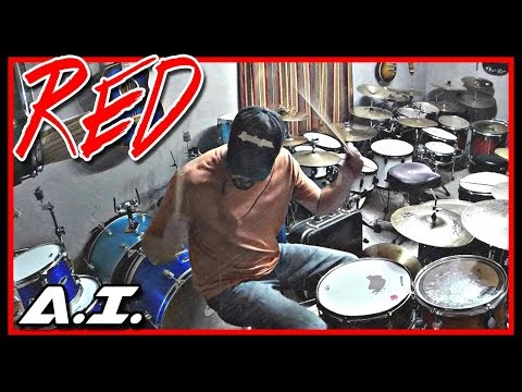 Red - A.I. - Drum Cover - Gone