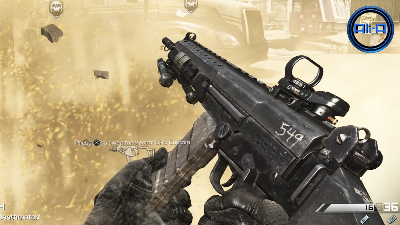 """GHOSTS Multiplayer Gameplay - New """"MARKSMAN"""" Rifle Class ..."""