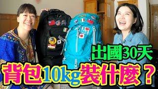 旅遊達人超強行李打包術,自助旅行如何挑選後背包? 登山背包 ❚ 超級旅行者