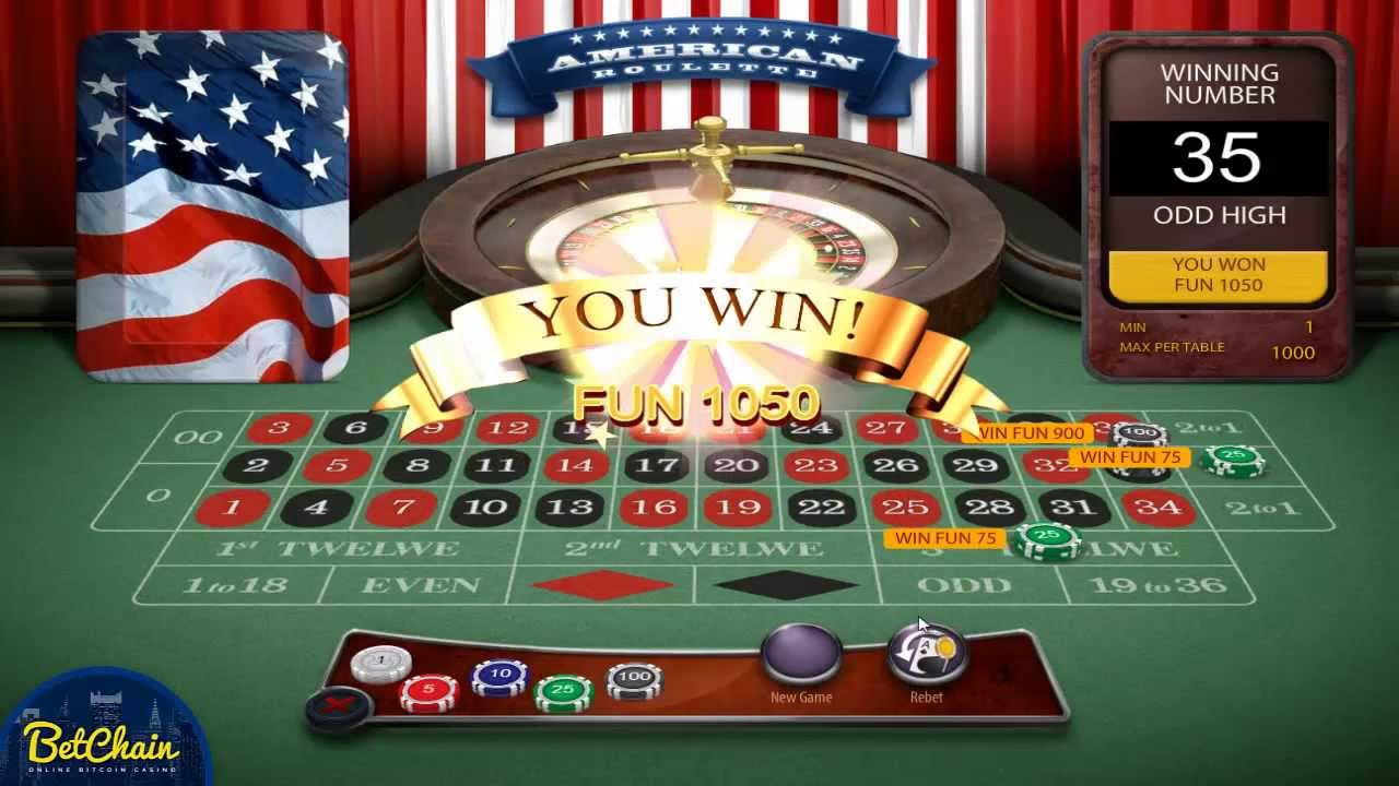 bitcoin casinos roulette