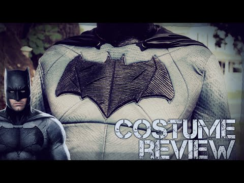 Batman v Superman Dawn of Justice Grand Heritage Rubie's Batman Costume Review New 2016