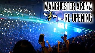 VLOG: MANCHESTER ARENA RE-OPENING!