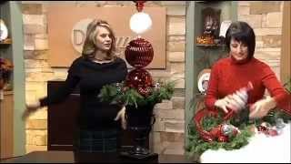 Ornament Topiaries for Christmas