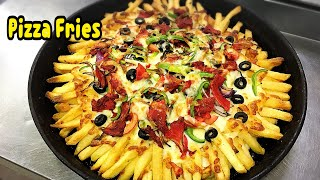 Pizza Fries Recipe /Snack Recipe By Yasmin's Cooking