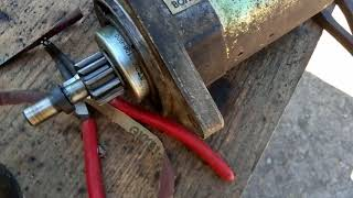 Ремонт редукторного стартера Ваз 2108, 2109, 21099. Шрус, пыльники+ништяки