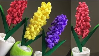 Easy And Beautiful Paper Flower Making | DIY  Paper Flower Craft | Home Decor | Paper Flowers
