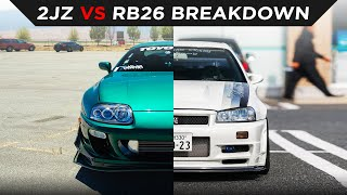 homepage tile video photo for 2JZ VS RB26   WHICH IS BETTER?   #TOYOTIRES   [4K60]