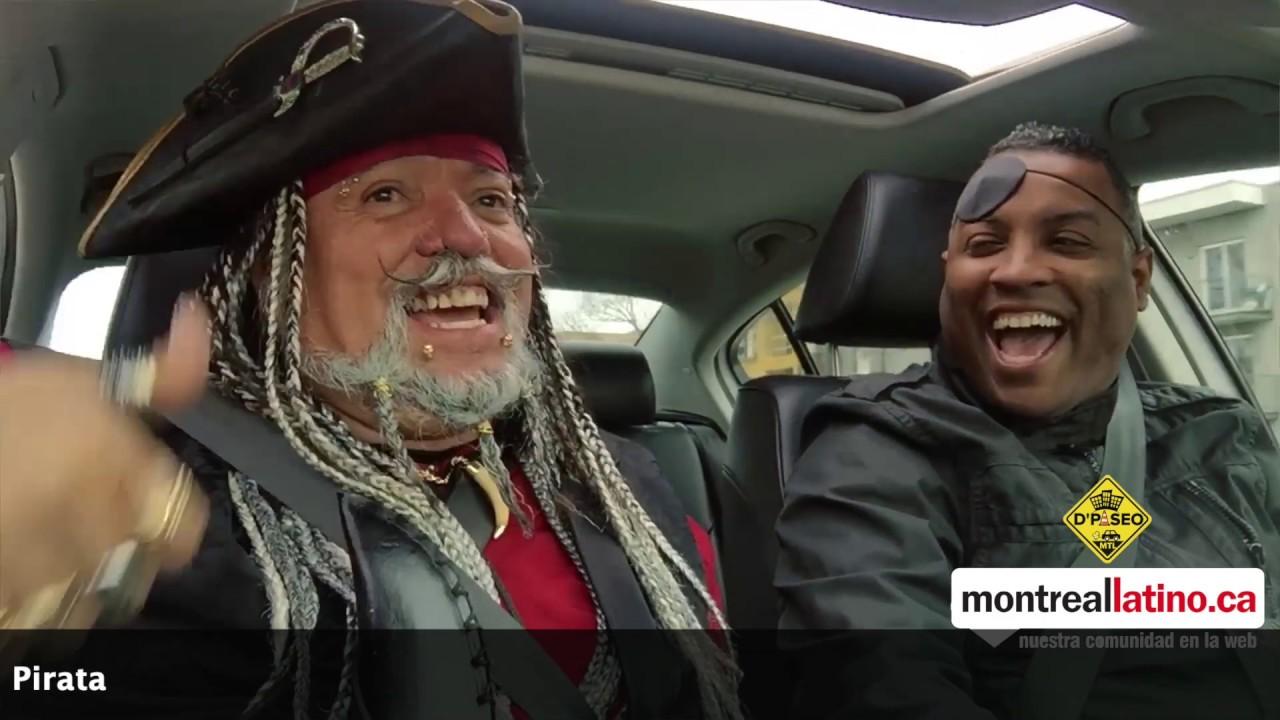 De Paseo con El Pirata de Montreal & Pedro Kamba MTL