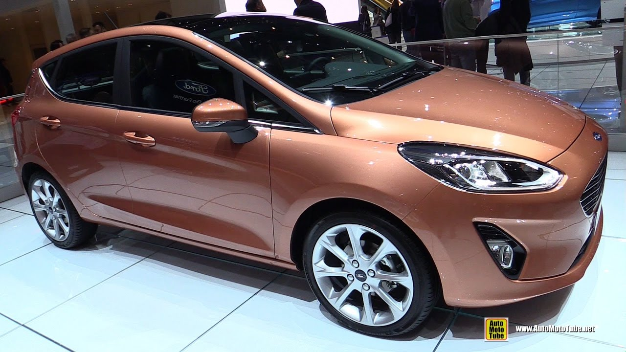 2018 ford fiesta exterior and interior walkaround. Black Bedroom Furniture Sets. Home Design Ideas