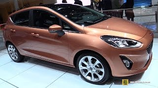 2018 Ford Fiesta - Exterior and Interior Walkaround - Debut at 2017 Geneva Motor Show