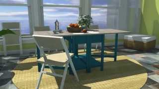 Gateleg Work Table