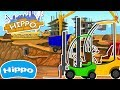 Hippo 🌼Construction machines 🌼 Building supermarket and forklift 🌼 Cartoon game for kids