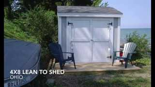 Lean To Shed Plans From iCreatablesTV