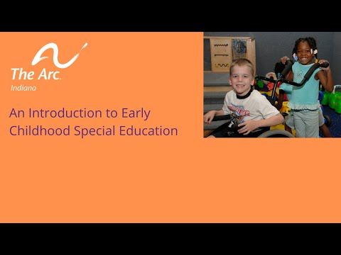An Introduction to Early Childhood Special Education
