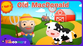 Old MacDonald Had a Farm | Nursery Rhyme | Kids Songs | The Kiboomers