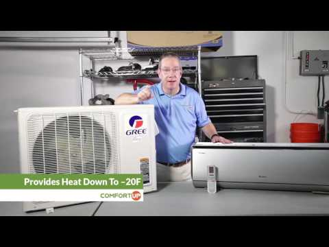 GREE Air Conditioners: Crown Series Mini Split Features - YouTube