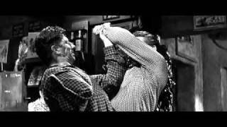 Lonely are the Brave -  Kirk Douglas fights a man who is (one) armed and Dangerous