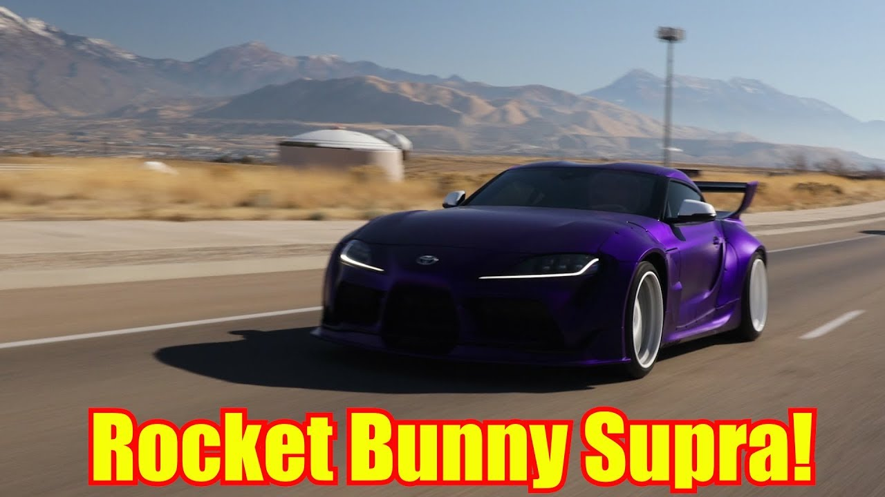 2020 Toyota Supra Widebody Purple