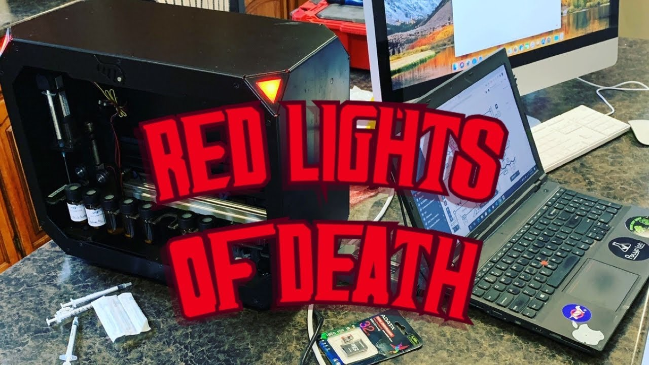 Reef Bot Red Lights Of Death and How to fix it.