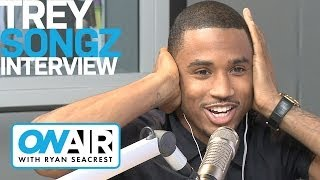 Trey Songz On Flirting with Nicki Minaj | On Air with Ryan Seacrest