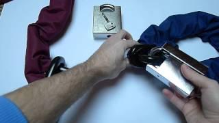 Almax Security Chain Immobiliser Series III 16mm and Immobiliser Series IV 19mm + Padlocks