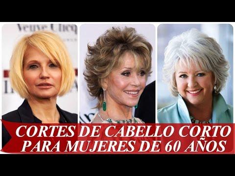 Cortes de cabello corto para mujeres de 60 años - YouTube