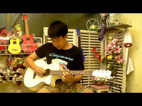 Sky Music บางแค (สอนกีต้าร์ อูคู เบส อื่นๆ 400บาท/เดือน ) - เชน ( ฤดูร้อน Intro )