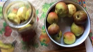 Компот быстро и вкусно на зиму из груш и яблок